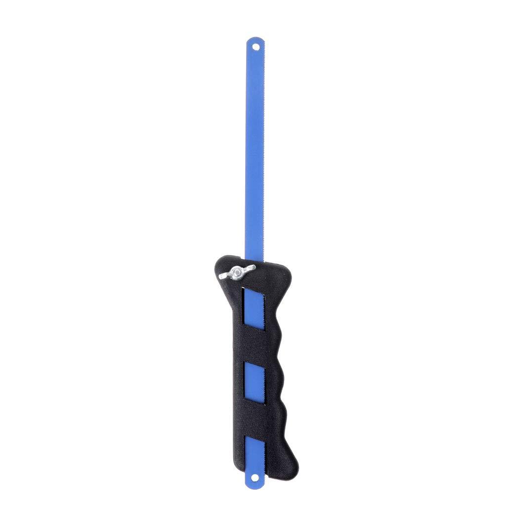 Jenor Plastique r/églable Poign/ée de scie /à main Mini Poche multifonctions Lames de scie