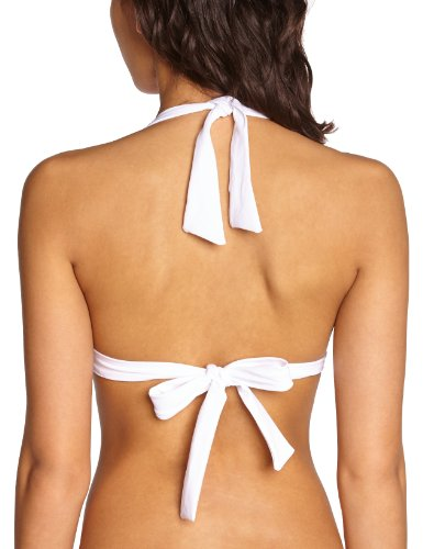 Livia - Parte superior del bikini para mujer Blanco (Blanc Santorin)