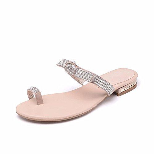 YMFIE Señoras' el Verano Comodidad y sencillez de Cool Zapatillas y Sandalias B