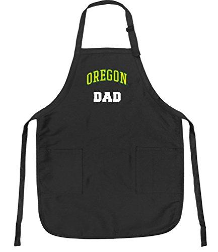 - Broad Bay University of Oregon Dad Aprons NCAA UO Dad Apron w/Pockets