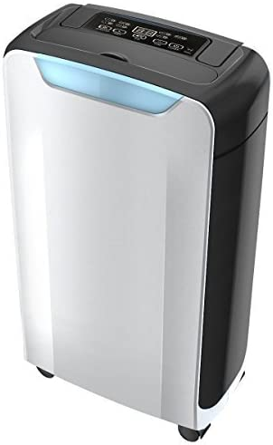 Eurgeen Portable Dehumidifier 20 Pint Mid-Size with 1.5L Water Tank, Perfect for Home, Bedroom, Office, Living Room, Bathroom