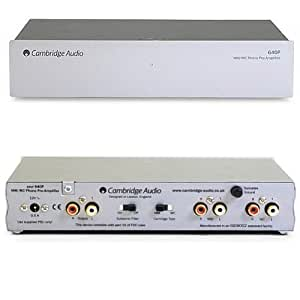 Cambridge - 640P Outboard Audiophile MM/MC Phono Stage - Silver