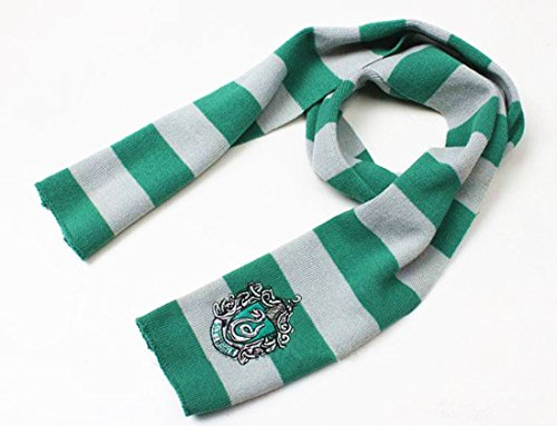 Fraternity Party Halloween Costumes (Harry Potter Scarf wrap (Green Slytherin))