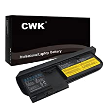CWK® New Replacement Laptop Notebook Battery for Lenovo ThinkPad X220t X220 X220i Tablet FRU 42T4881 42T4877l 42T4879 ThinkPad X220t 0A36285 0A36286 42T4877 42T4878 45N1078 45N1079 0A36285 0A36286 42T4879 42T4881 45N1077 67+ OA36285