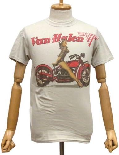 Biker Pin Up T-Shirt Van Halen