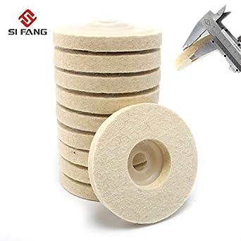 100mm Wool Felt Polishing Wheel Buffing Pad Grinding Abrasive Disc Rotary Tool