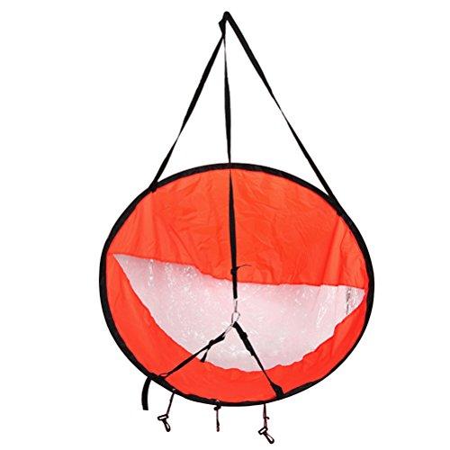VORCOOL Viento a Favor del Viento Viento Pop Up Wind Paddle Tablero Portátil Vela de Kayak para Barco Velero Canoa Kayak Estilo Plegable, Instalación Fácil Despliega Rápidamente (Rojo)