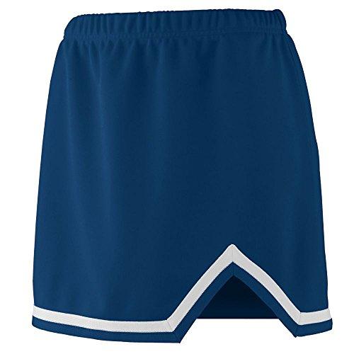 V-notch Skirt - Augusta Sportswear Girls' ENERGY SKIRT M Navy/White