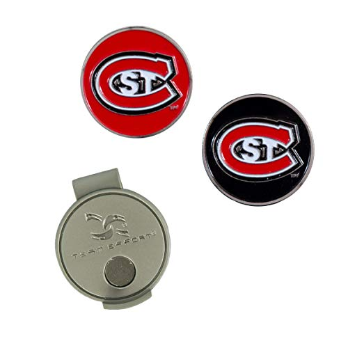 Team Effort NCAA St. Cloud State Huskies Hat Clip & 2 Ball Markersst. Cloud State Huskies Hat Clip & 2 Ball Markers, Multicolor, NA