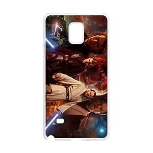 Star Wars Samsung Galaxy Note 4 Cell Phone Case White XZP