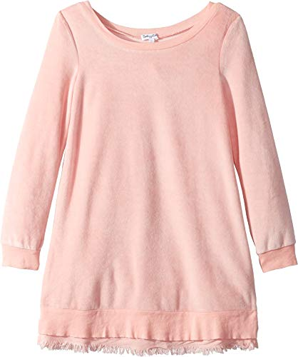 Splendid Girls' Big Velour Dress, Mellow Rose, 10 (Splendid 6pm)