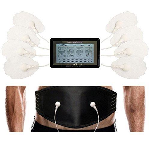 Healthmateforever 8 Modes Best Digital Pulse Touchscreen Massager + Weight...