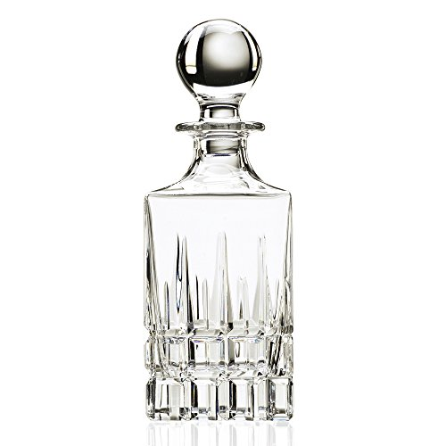 Lorenzo Carrara Collection Square Decanter, Clear by Lorenzo