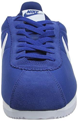Multicolore De gym Classic Cortez Nike Chaussures white Blue Gymnastique Femme 406 Y7pRqWn