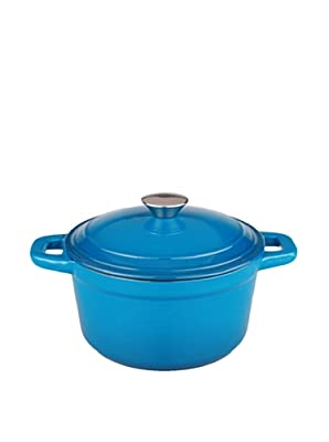 BergHOFF Neo Cast Iron Stockpot with a Lid, Blue, 7-Qt.