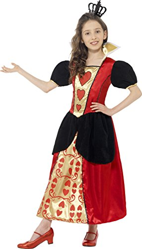 Queen Of Hearts Little Girl Costume (Miss Hearts Queen Kids Costume)