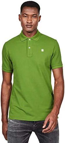 Polo G-Star Hombre Verde DUNDA Slim Polo SS LT TULLA Green: Amazon ...