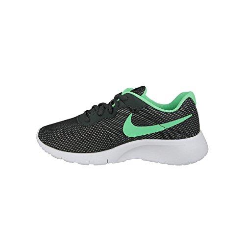 Nike 859617-001, Zapatillas de Trail Running para Niñas Gris (Anthracite / Green Glow-Green Glow)