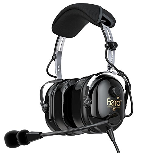 Faro G2 Passive (PNR) Helicopter Headset with MP3 Input