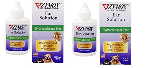 Zymox Otic Dog Pet Ear Treatment Hydrocortisone Free 1 25