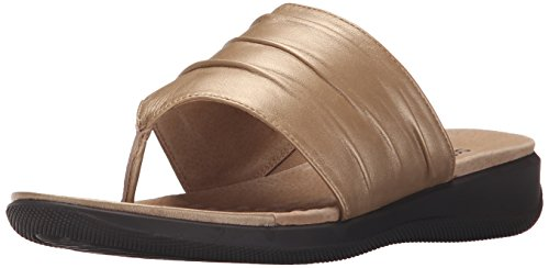 Wedge Sandal Women's Gold Toma Wash SoftWalk zHSqfS