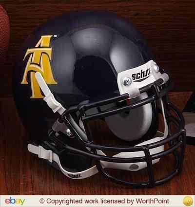 Price comparison product image Schutt NCAA North Carolina A&T Aggies Unisex NCAA North Carolina A&T State Aggies Authentic XP Football Helmetncaa North Carolina A&T State Aggies Authentic XP Football Helmet, Classic, N