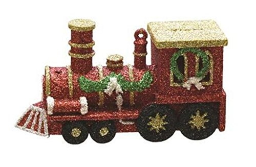 """Northlight 4.5"""" Merry & Bright Red, Gold and Green Glitte..."""