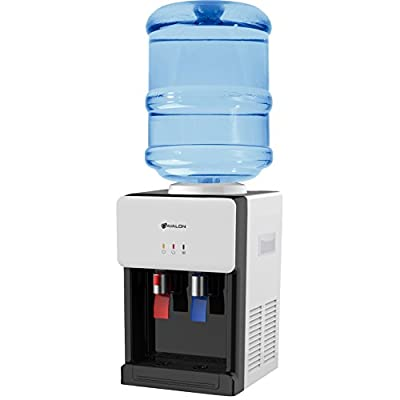 Avalon Premium Hot/Cold Top Loading Countertop Water Cooler Dispenser With Child Safety Lock. UL/Energy Star Approved