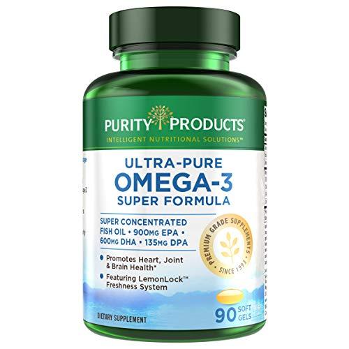 Purity Products – Ultra Pure Omega 3 Super Formula 90 Softgels
