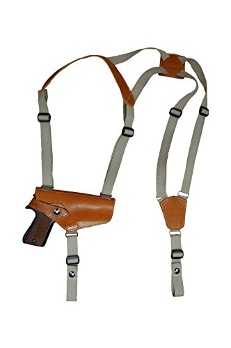 Barsony New Horizontal Saddle Tan Leather Shoulder for sale  Delivered anywhere in USA