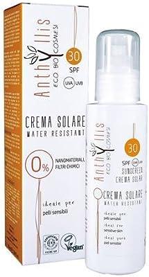 ANTHYLLIS - Crema Solar SPF 30 - Resistente al agua - Sin ...
