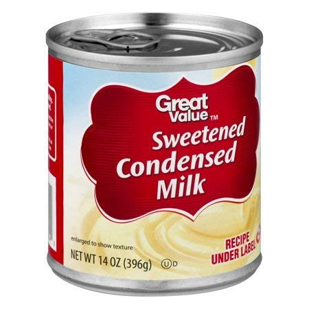 Great Value Sweetened Condensed Milk, 14 oz (10 Servings per Container) - Pack of 6 by Great Value (Image #2)