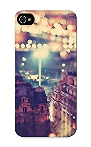 Christmas Gift - Tpu Case Cover For Iphone 5/5s Strong Protect Case - Paris Landscapes Cityscapes France Bokeh Photo Filters Design