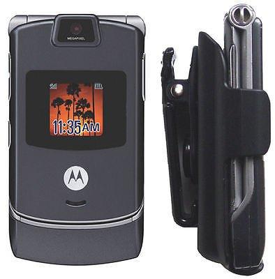 V3 Razr Cell Case - Motorola Holster Case Razr Razor V3 V3X V3c V3I V3R V3M V3T Phone cell Belt clip