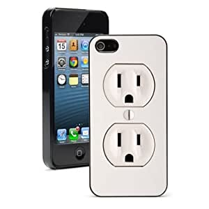 For Apple iPhone 4 4S Hard Case Cover Wall Outlet Plug