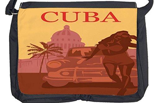 Borsa Tracolla Avventuriero Cuba Stampato