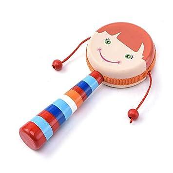 Desarrollo musical De madera de dibujos animados Smiley de ...