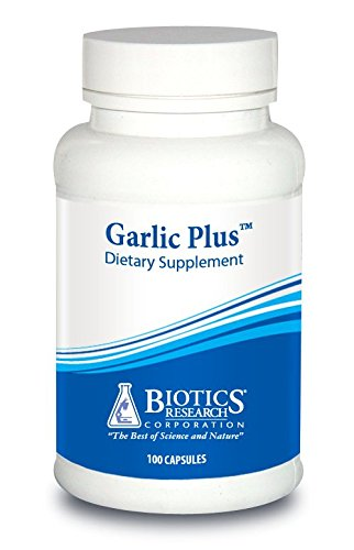 Biotics Research Garlic Plus™ – Pure Garlic Concentrate Plus Vitamin C & Chlorophyllins, Supports Cardiovascular Health, Immune Function, Strong Antioxidant 100 Tablets
