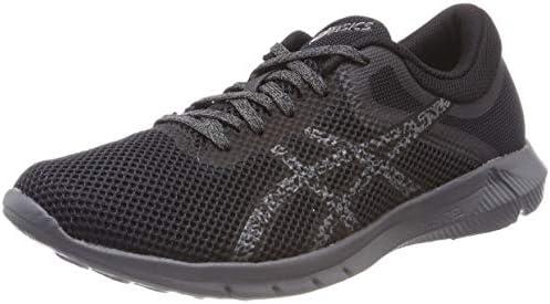 Asics Men Nitrofuze 2 Running Shoes, Grey (Carbon/Black/Carbon ...
