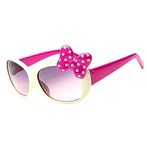 Gracefulvara Baby Girls Cute Bow Anti-UV Sunglasses Fashion Gift