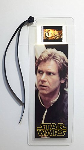 STAR WARS HAN SOLO Movie Film Cell Bookmark - Complements dvd poster book -