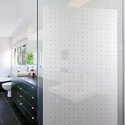 ORPRO - Lámina de vidrio profesional opaca, lámina autoadhesiva para ventana, lámina adhesiva para privacidad sin PVC, diseño matrix, ventana de cristal opalino: Amazon.es: Hogar