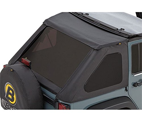 Bestop 58223-35 Black Diamond Tinted Window Kit for Trektop NX for 2007-2018 Wrangler Unlimited