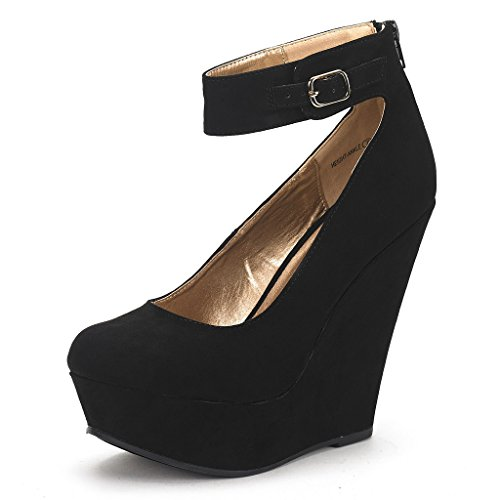DREAM PAIRS HEIGHT-ANKLE New Women's Ele - New Platform Wedge Shopping Results