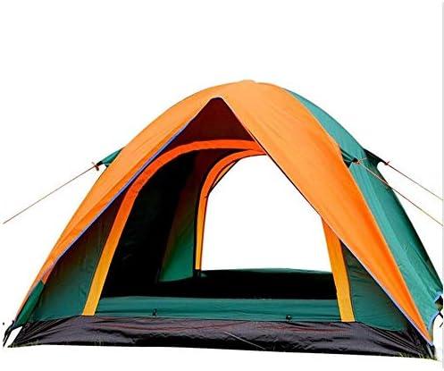 Stal Outdoor Camping Waterdichte Tent, eenvoudig aan te passen 4 Wind Touwen, Instant Cabin Tent, geschikt for Travel Summer 205 * 180 * 140 cm, eenvoudig te installeren Draagbaar
