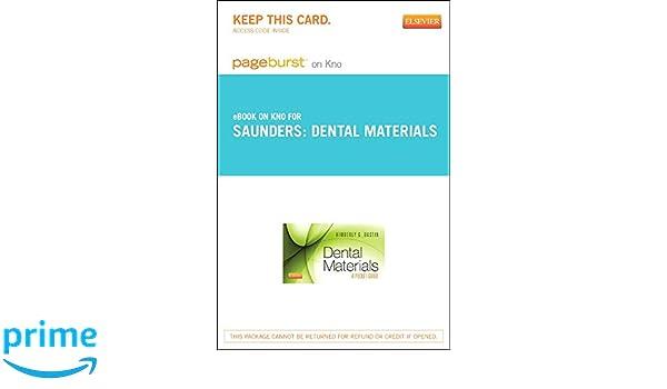 Dental Material Ebook