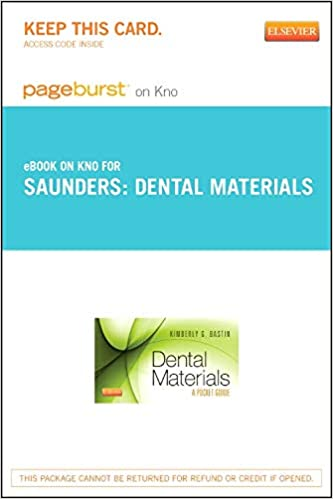 Dental Materials Ebook