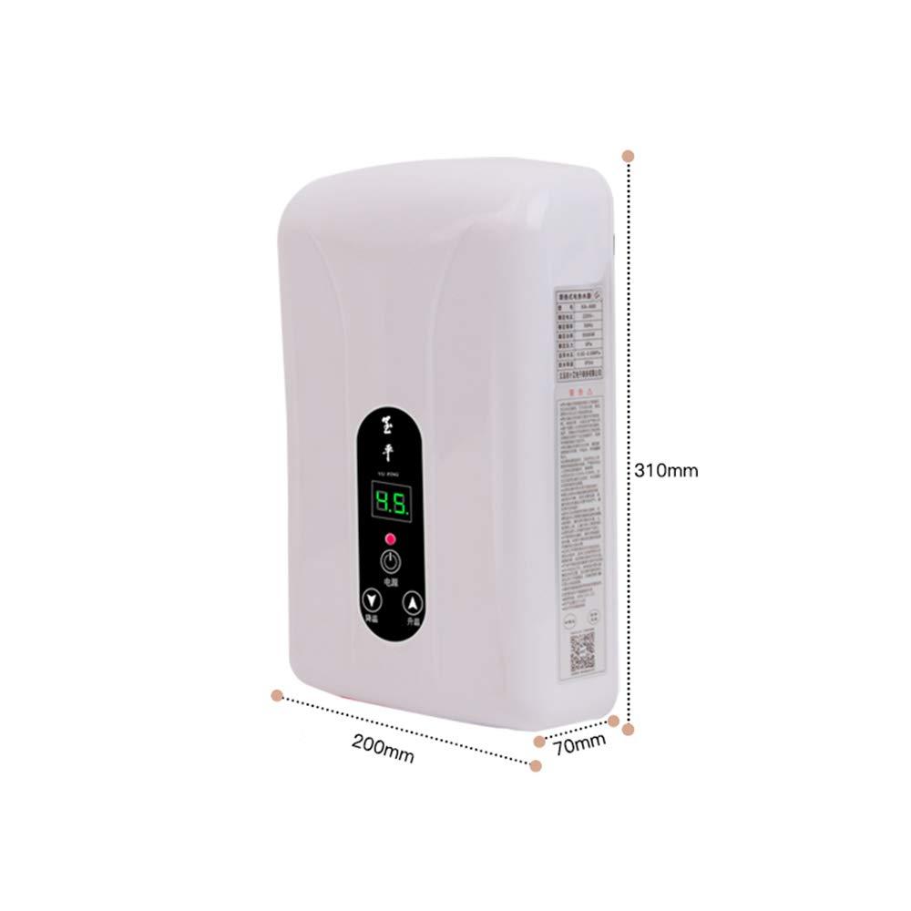 Water heater Calentador de Agua instantáneo-baño de casa de Almacenamiento de Agua Libre pequeño Calentador de Agua eléctrico montado en la Pared de ...