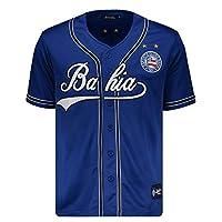 Camisa Baseball Bahia Azul