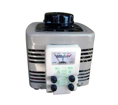 4 Amp Variac Variable Transformer, 1000VA Max, 0~250 Volt Output